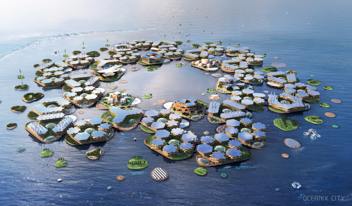 Discovering the floating cities